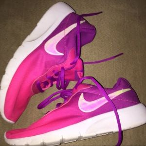 Girls Nike running shoes